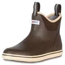 "Xtratuf Men's 6"" Tan Ankle Deck Boot w/ XpressCool Lining - Size 9"