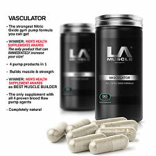 LA Muscle Vasculator x 2 Pack