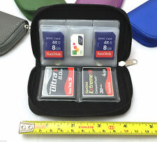 CF Micro SD SDHC MMC Memory Card Holder Storage Carry Pouch Wallet Case US SELL