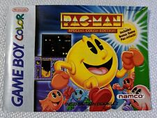 Pac-Man Special Color Edition Game Boy Color Instruction Manual Booklet ONLY