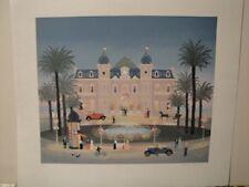 """Fabienne Delacroix  """"Le Casino de Monte Carlo""""  S/N Lithograph"""