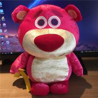 Disney Toy Story Lotso Bear Strawberry Plush Toy Gift 30CM