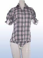 camicia donna body quadri MISS MISS BY VALENTINA taglia S SMALL