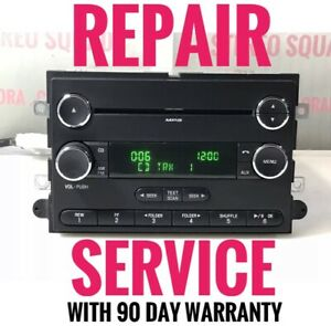 REPAIR For 2011-2015 Ford F250 F350 F450 Super Duty 12 Volt Single CD MP3 Radio