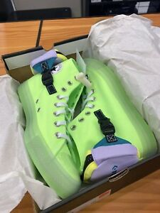 Converse Chuck Taylor All Star Neon Jelly Buckle Up High Top 169030C Size 8.5—11