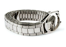 H&M xMAISON MARTIN MARGIELA FACELESS EXTENDED WATCH BRACELET BELT Sz. Small