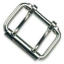 "2"" Nickel Plated 2-prong Roller Buckle - 2 2prong Two Belt Design Accent Tandy"