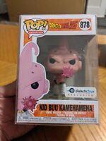 Funko Pop! DBZ Kid Buu Kamehameha Galactic Toys Exclusive + Protector