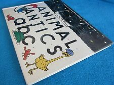 Animal Antics a b c ~ Moira COCHRANE. Illust Armin Greder. 1988 Hb  HERE in MELB