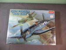 Academy 1:48 F4U-1 Corsair Bird Cage Model Kit 2204 SEALED