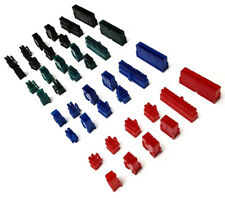 Choose Any 10 Connectors - 24 8 6 6+2 4 Pin White Red Black Blue Green ATX Pci-E