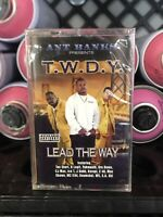 Ant Banks TWDY Lead The Way SEALED Cassette Tape Rare Vintage 2000 Bay Area Rap