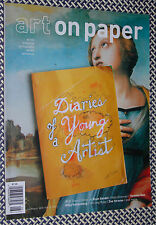 ART ON PAPER, DIARY ENTRIES, TERENCE KOH, ZOE STRAUSS, ROTTENBERG