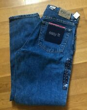 Vintage 1990s Gap Blue Jeans Size 32 x 30 Zip Fly Stonewashed Easy Fit NEW