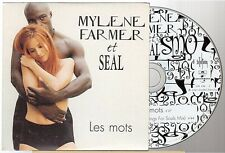 MYLENE FARMER les mots CD SINGLE seal