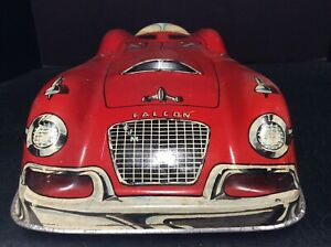 "Vintage Marx Tin Toy Falcon 5220 Car 20"" Long- No Top/Windshield"