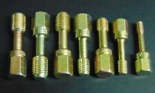 METRIC THREAD CHASER RETHREADING TAP SET M6mm, 8mm, 10mm, & 12  MADE IN USA 7pcs