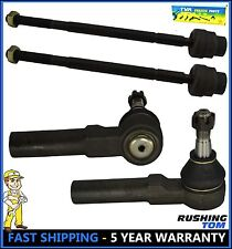 4 Inner and Outer Tie Rod Ends for GM Buick Pontiac - Chevy Impala ES3459 EV195