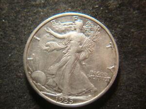 1935-S XF AU Walking Liberty Half Dollar Nice T2X