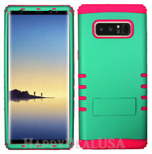 For Samsung Galaxy Note 8 - KoolKase Hybrid Silicone Cover Case - Pearl Green FL