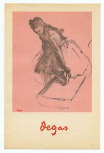 "Edgar Degas ""Danseuse rajustant son chausson"""