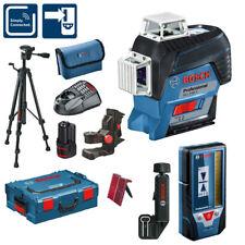 BOSCH láser de línea GLL 3-80 C incl. laser-empfänger lr7 L-BOXX + Trípode bt150