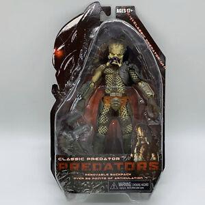 "Predators Classic Predator Action Figure Doll Toy Alien Hunter 8"""