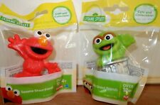 NEW Sesame Street Friends Elmo and Oscar Toy Figures Cake Topper New