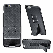 WizGearTM Shell Holster Combo Case iPhone 6 4.7 Inch Screen Kickstand,