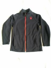 Spyder Jacket Constant Stryke Sweater Fleece Full Zip Kids Boys Large 14-16