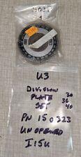 Emco Unimat 3 Lathe Dividing Indexing Plate Set 30 36 Amp 40 Pn 150323 I15u