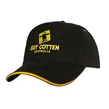 Guy Cotten Cap | Black with Yellow Trim