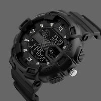 SKMEI Men's Large Dial LED Digital Waterproof Chrono Sports Military Wrist Watch