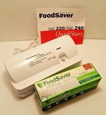 FoodSaver VAC 240 Home Vacuum System Food Sealer Storage Bag Machine