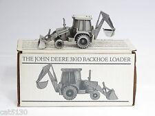 John Deere 310D Backhoe - 1/50 - Pewter - SpecCast # JDM011 - MIB