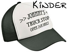Johnnys Truck Stop Kinder Trucker Cap RocknRoll Oldschool Kappe Kids Wear Retro