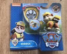 Paw Patrol Rubble Juguete con piezas móviles-a Estrenar en Caja Nuevo Y En Caja