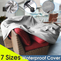 Waterproof Dustproof Outdoor Furniture Cover Garden Patio Table Chair Protector