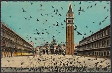 AX0792 Venezia - Piazza San Marco - Cartolina postale - Postcard