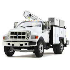 FORD F-650 WHITE W/ MAINTAINER SERVICE BODY 1/34 DIECAST BY FIRST GEAR 10-4107