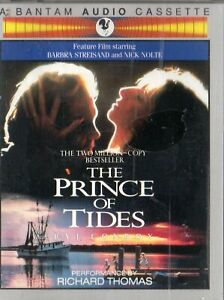 THE PRINCE OF TIDES-2 x AUDIO BOOK - N&S - Never played - Read by Richard Thomas