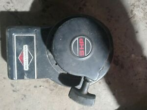Vintage Briggs and Stratton 5hp Blower Housing with Starter and recoil 293841