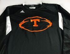 Tennessee Vols Long Sleeve Shirt Mens XL Adidas ClimaLite Football Sweatshirt