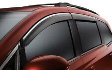 Genuine Honda OEM - Odyssey Door Visors w/ Chrome Accent - 08R04-TK8-100A
