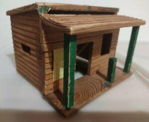 Westernhaus / Drugstore / Timpo Toys / Elastolin / Haus / Holz 70iger Jahre