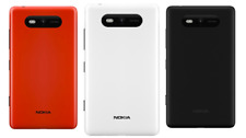 Genuine NOKIA Lumia 820 Battery Covers - Red, White and Black