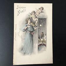 CPA Carte Ancienne JOYEUX NOEL 1910 Circa CHRISTMAS Postcard