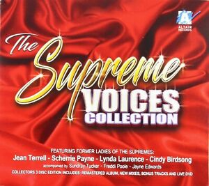 The Supreme Voices Collection - SEALED U.S. 2XCD + DVD