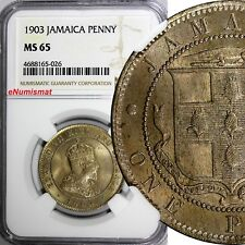 Jamaica 1950 Farthing KM#33 Choice Uncirculated