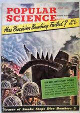 POPULAR SCIENCE MAGAZINE JULY 1943 WWII VINTAGE NEW ARMY & NAVY MEDALS